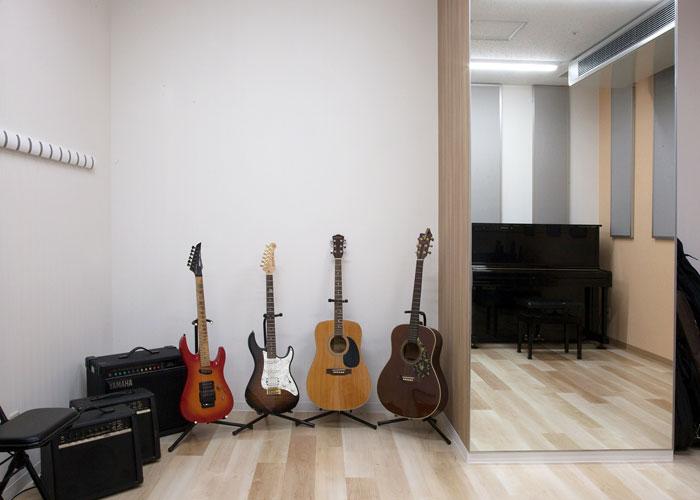 大小10部屋のスタジオを完備